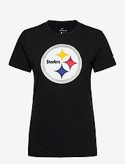 NIKE Fan Gear - Pittsburgh Steelers Nike Logo T-Shirt - t-skjorter - black - 0
