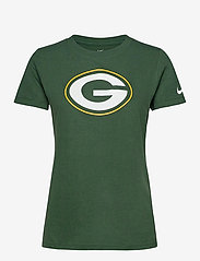NIKE Fan Gear - Green Bay Packers Nike Logo T-Shirt - t-skjorter - fir - 0