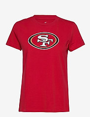 NIKE Fan Gear - San Francisco 49ers Nike Logo T-Shirt - t-skjorter - gym red - 0