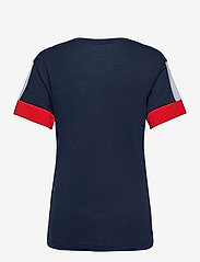 NIKE Fan Gear - New England Patriots Nike Mascot Outline Fashion Tri-Blend - t-skjorter - college navy / white / university red - 1