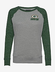 NIKE Fan Gear - Green Bay Packers Nike Left Chest Logo Gym Vintage - topjes met lange mouwen - dark grey heather / fir - 0