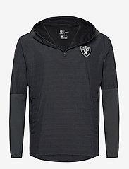 NIKE Fan Gear - Las Vegas Raiders Nike Team Logo Pregame Lightweight - anoraks - black / anthracite - 0