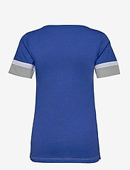 NIKE Fan Gear - LA Dodgers Nike Mesh Logo Fashion Vneck T-Shirt - t-skjorter - rush blue heather - 1