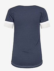 NIKE Fan Gear - New York Yankees Nike Mesh Logo Fashion Vneck T-Shirt - t-skjorter - midnight navy heather - 1