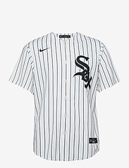NIKE Fan Gear - Chicago White Sox Nike Official Replica Home Jersey - t-shirts - white - black - 0