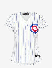 NIKE Fan Gear - Chicago Cubs Nike Official Replica Home Jersey - t-skjorter - white - bright royal - 0