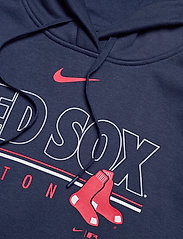 NIKE Fan Gear - Boston Red Sox Nike Team Outline Club Pullover Hoodie - hoodies - midnight navy - 3