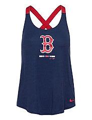 Boston Red Sox Nike Legacy Dri-Fit Elastika Tank Top - MIDNIGHT NAVY - SPORT RED