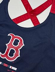 NIKE Fan Gear - Boston Red Sox Nike Legacy Dri-Fit Elastika Tank Top - tank tops - midnight navy - sport red - 2