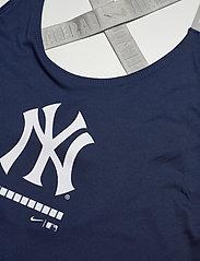 NIKE Fan Gear - New York Yankees Nike Legacy Dri-Fit Elastika Tank Top - topjes - midnight navy - medium silver - 2
