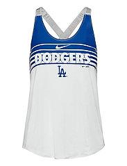 LA Dodgers Women's Nike Rising Stripe Dri-Fit Elastika - WHITE