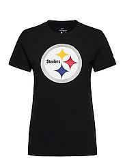 Pittsburgh Steelers Nike Logo T-Shirt - BLACK
