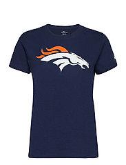 Denver Broncos Nike Logo T-Shirt - COLLEGE NAVY