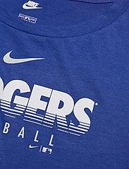 NIKE Fan Gear - LA Dodgers Nike Team Stripes Essential T-Shirt - t-shirts - rush blue - 2