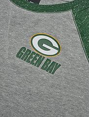 NIKE Fan Gear - Green Bay Packers Nike Left Chest Logo Gym Vintage - topjes met lange mouwen - dark grey heather / fir - 2