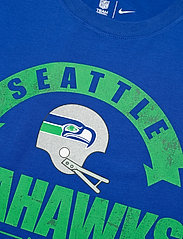 NIKE Fan Gear - Seattle Seahawks Nike Historic Tri-Blend T-Shirt - t-shirts - old royal - 2