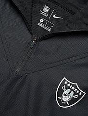 NIKE Fan Gear - Las Vegas Raiders Nike Team Logo Pregame Lightweight - anoraks - black / anthracite - 3