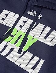NIKE Fan Gear - Seattle Seahawks Nike Local Club Fleece Hoodie - college navy - 3