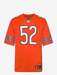 Chicago Bears Nike Game Alternate Jersey - Player - t-shirts - university orange