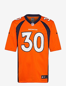 Denver Broncos Nike Game Team Colour Jersey - Player - football shirts - brilliant ornge