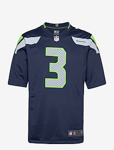 Seattle Seahawks Nike Game Team Colour Jersey - Player - t-shirts - college navy