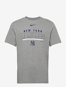 New York Yankees Nike Color Bar T-Shirt - t-shirts - dark grey heather