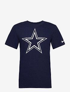 Dallas Cowboys Nike Logo Essential T-Shirt - t-shirts - college navy