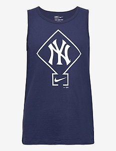 New York Yankees Nike Diamond Logo Classic Tank Top - tank tops - midnight navy