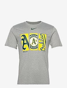 Oakland Athletics Nike Tryptich Logo Legend T-Shirt - urheilutopit - dark grey heather