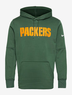 Green Bay Packers Nike Wordmark Therma Pullover Hoodie - pulls a capuche - fir