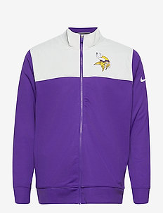 Minnesota Vikings Nike Logo Long Sleeve Jacket - trainingsjacken - court purple / medium silver