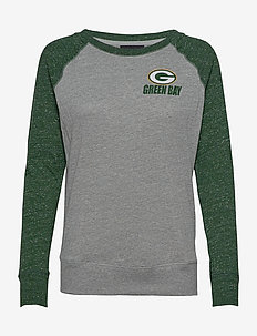 Green Bay Packers Nike Left Chest Logo Gym Vintage - langermede topper - dark grey heather / fir