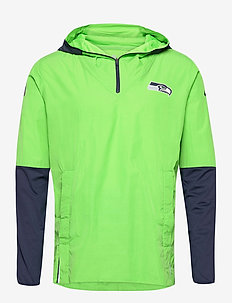 Seattle Seahawks Nike Team Logo Pregame Lightweight - sports jackets - action green / college navy