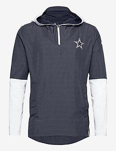 Dallas Cowboys Nike Team Logo Pregame Lightweight - trainingsjacken - college navy / white
