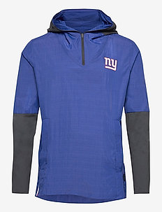 New York Giants Nike Team Logo Pregame Lightweight - sports jackets - rush blue / anthracite