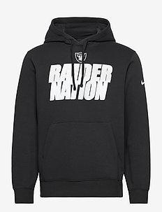 Las Vegas Raiders Nike Local Club Fleece Hoodie - hupparit - black