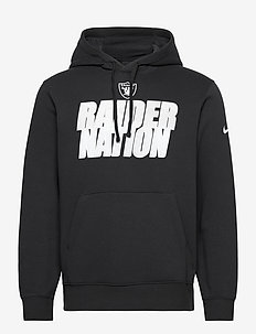 Las Vegas Raiders Nike Local Club Fleece Hoodie - huvtröjor - black