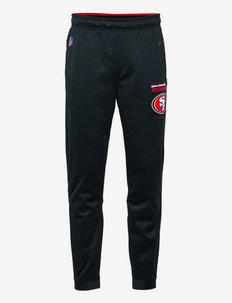 San Francisco 49ers Nike Therma Pant - sweatpants - black-gym red-flat silver