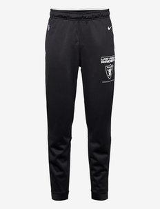 Las Vegas Raiders Nike Therma Pant - sweatpants - black-white-flat silver