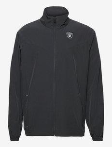Las Vegas Raiders Nike Woven FZ Jacket - sportjackor - black-field silver