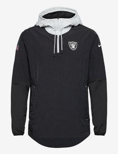 Las Vegas Raiders Nike Jacket LWT Player - anoraker - black-field silver