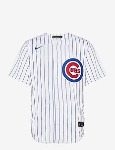 Chicago Cubs Nike Official Replica Home Jersey - t-shirts - white - bright royal