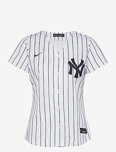 New York Yankees Nike Official Replica Home Jersey - t-paidat - white - navy winning
