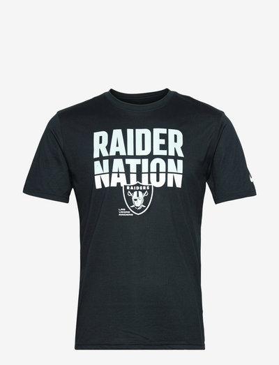 Las Vegas Raiders Nike Local Phrase Legend T-Shirt - t-shirts - black