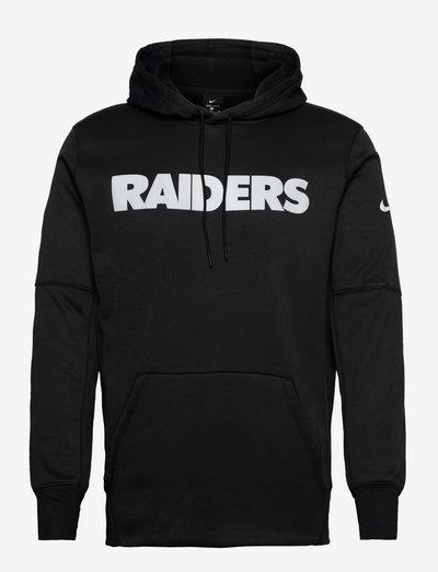 Las Vegas Raiders Nike Wordmark Therma Pullover Hoodie - pulls a capuche - black