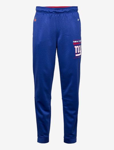 New York Giants Nike Therma Pant - pantalons - rush blue-gym red-flat silver