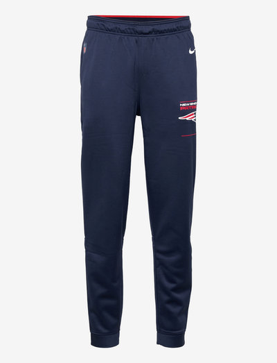 New England Patriots Nike Therma Pant - pantalons - college navy-university red-flat silver