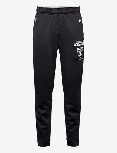 Las Vegas Raiders Nike Therma Pant - pantalons - black-white-flat silver