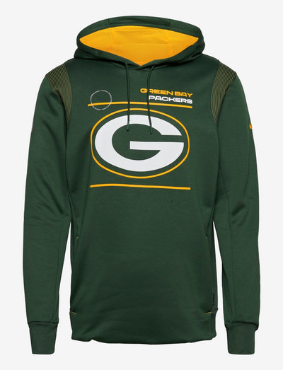 Green Bay Packers Nike Therma Hoodie PO - pulls a capuche - fir-university gold