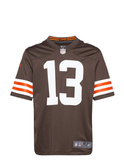 Cleveland Browns Nike Game Team Colour Jersey - Player T-Shirt Braun NIKE FAN GEAR